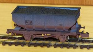 Dapol 2F-034-070 BR 21T Hopper, Weathered